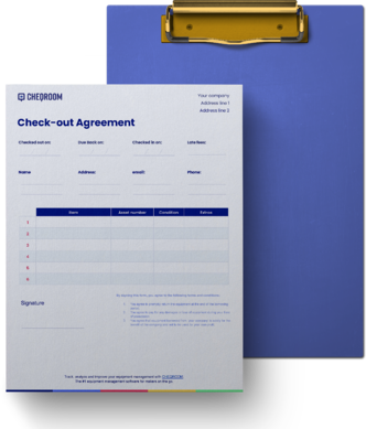 Equipment-Checkout-Template
